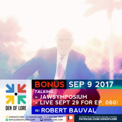 JAWSymposium Opening Interview w/ Robert Bauval